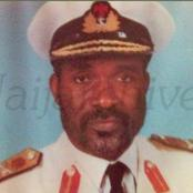 The first Northerner to held the position of Chief of Naval Staff