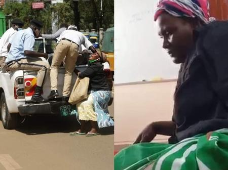 Woman Who Was Dragged by City Askaris Receives Gift Just a Day After Her Video Went Viral