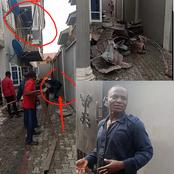 After a house caught fire in Ibadan, see what the fire fighter told the occupants of the house