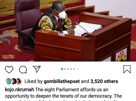 Kojo Oppong Nkrumah Post Is Still Attracting Mind-blowing Comments. See Why