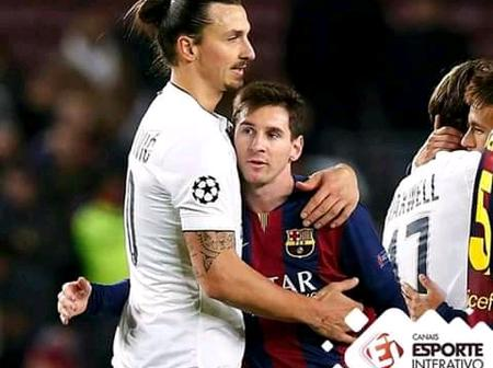 Zlatan Ibrahimovic Revealed Interesting Facts About Lionel Messi At Barcelona