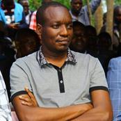Dagorethi MP Simba Arati and South Mugirango MP Sylvanus Osoro Reconcile at a Funeral