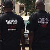 Lagos Resident Raises Alarm As He Saw SARS Officers On The Road