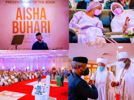 Check out Millions Donated by Tinubu and others at Aisha Buhari's Book Launch