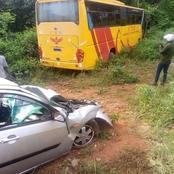 Un car CTE entre en collision avec un véhicule personnel, plusieurs victimes signalées