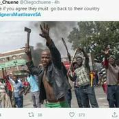 Foreigners must leave SA? See why cop must start clamping down on those behind this hashtag. Opinion