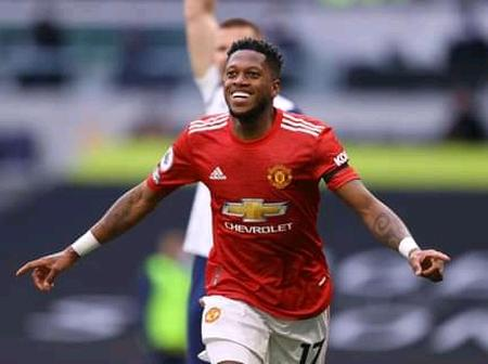 After Fred Scored his second English Premier League goal, Checkout the message he sent to fans