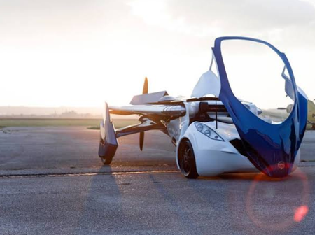 Check Out The Flying Car That Can Be Used On The Road And In The Air (Photos)
