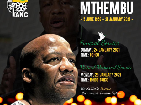 Jackson Mthembu Knew He Was Going To Die - See His Tweets And How He Knew (Opinion)