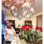 Adesua Etomi makes first appearance online after giving birth