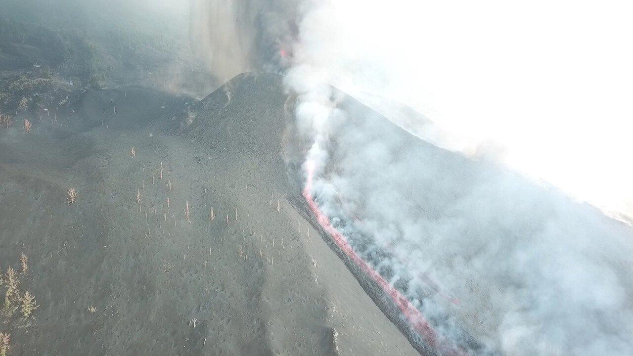 Vulkanausbruch auf La Palma – Regulärer Flugbetrieb derzeit nicht denkbar