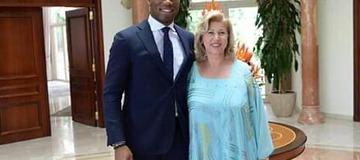 Fif : la Première Dame, Dominique Ouattara aime le profil de Drogba