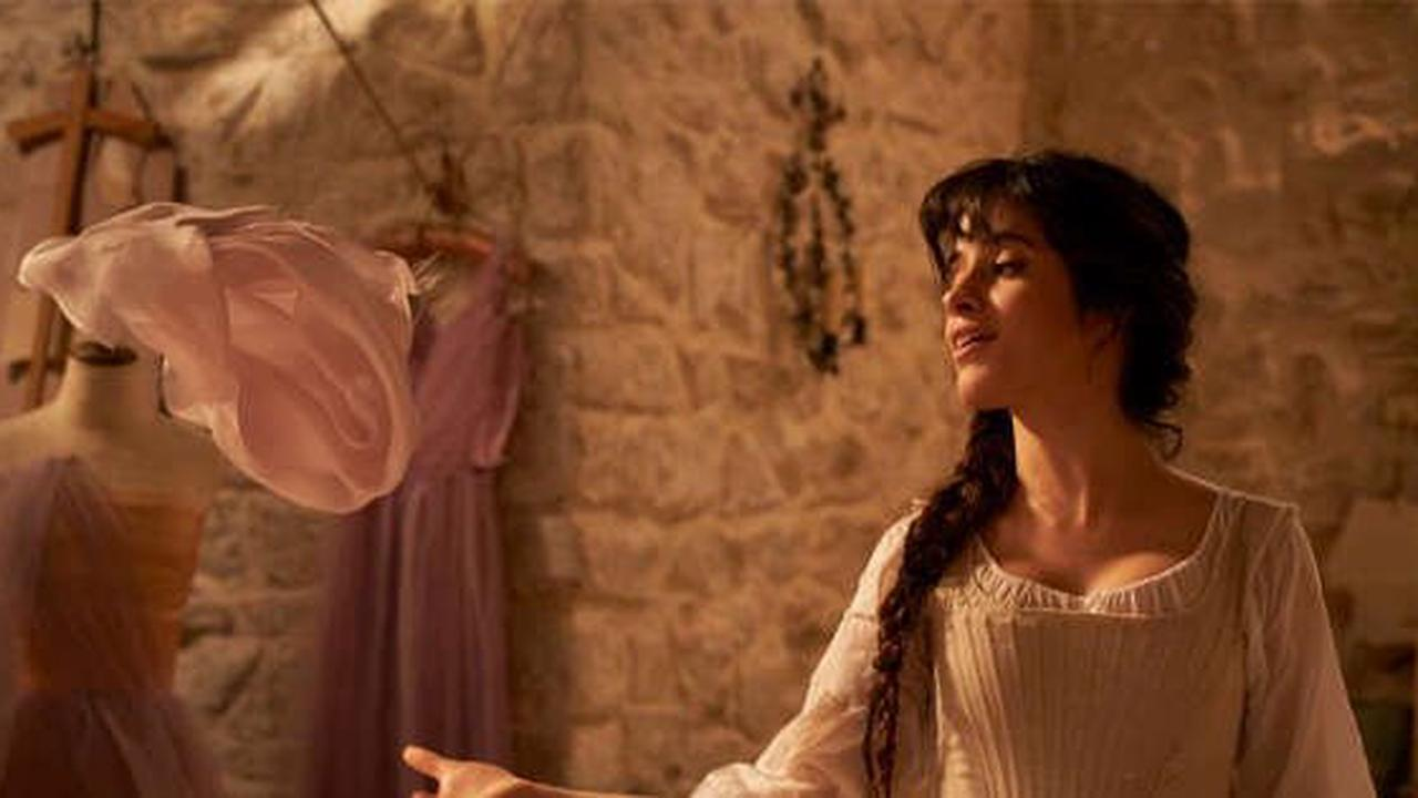 See Camila Cabello Become a Princess in the First Photos From Her Cinderella Movie