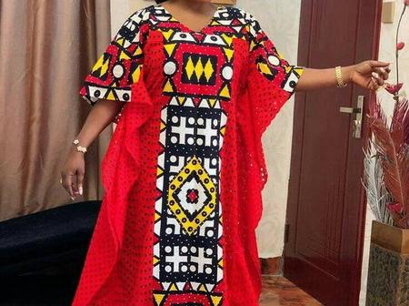 Matured Women, Here Are Some Kaftan And Boubou Gown Styles You Might Love To Slay With