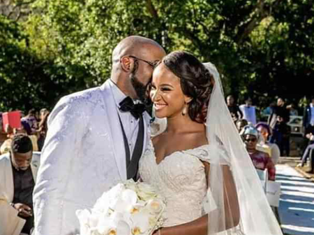 Love is Sweet: Photos of Banky W and His Wife as they Celebrated 3years Wedding Anniversary