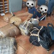 After a high speed chase, foreign nationals were found with these by police