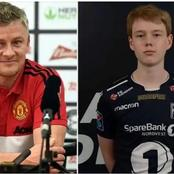 Here is the response of Solskjaer's Son after he was dragged into Mourinho row with his dad