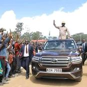 Raila's Machine that has Taken him to Places