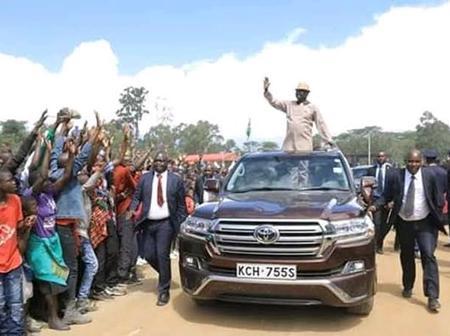 Raila's Machine that has Taken him to Places