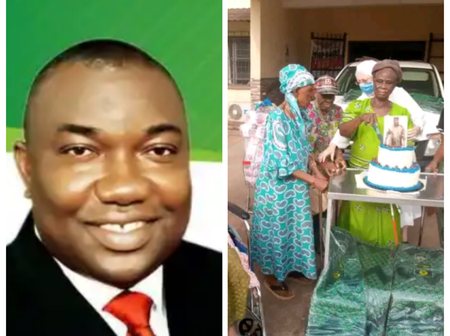 See What Gov. Ugwuayi Did For The People Of Enugu On His 57th Birthday.
