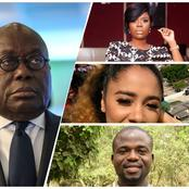 Stir on social media as Celebrities talk about what is currently happening in Ghana; many angry