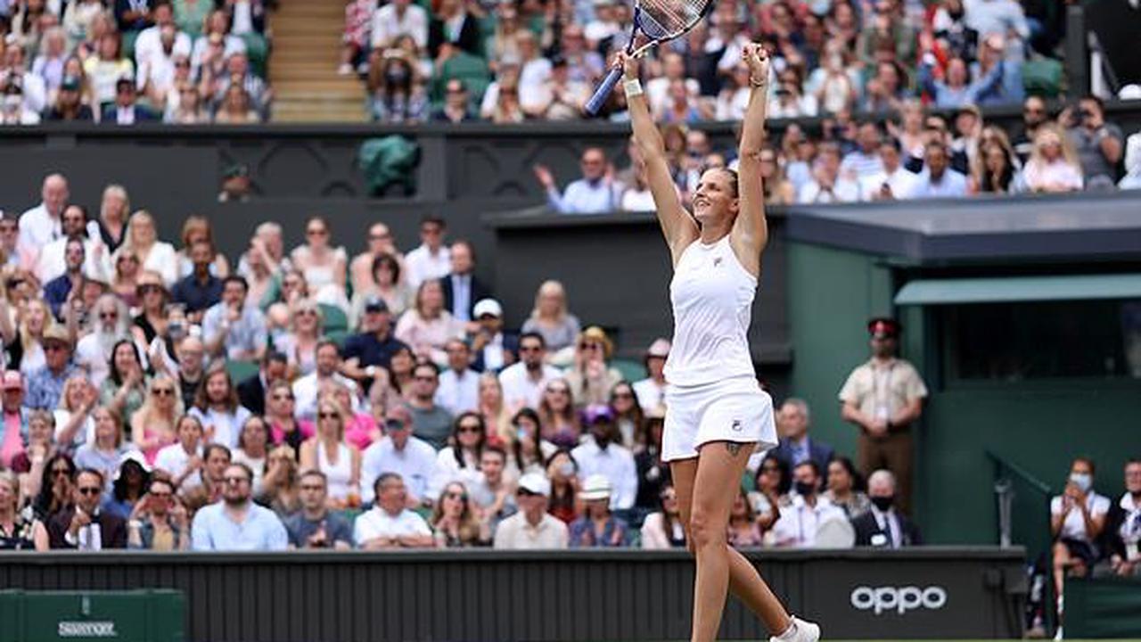 Karolina Pliskova comes back from one set down to beat Aryna Sabalenka and progress through to her first Wimbledon final...where she will face World No.1Ashleigh Barty