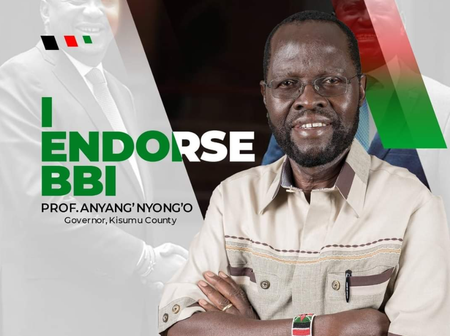The darkest hour is just before the dawn, Anyang' Nyong'o to maintain his seat in 2022