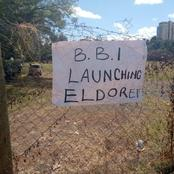 Empty Tents, Halls as Eldoret Residents Keep Off BBI Signature Collection Drives (Photos)