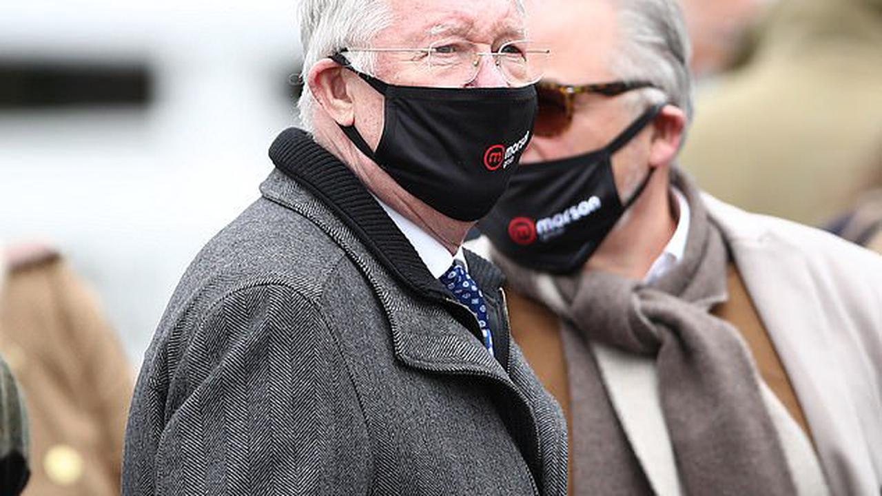 Sir Alex Ferguson was celebrating on Merseyside once again at Aintree