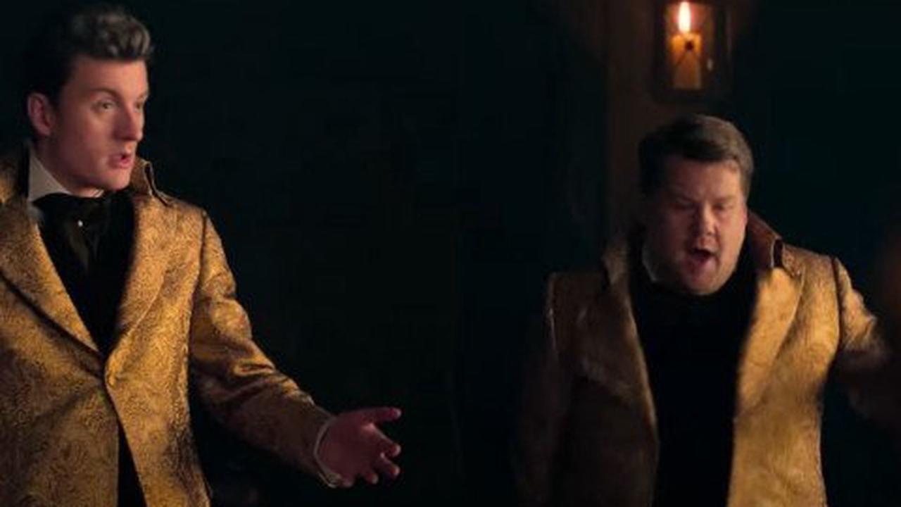 James Acaster is stirring a lot of feelings as he appears in Cinderella trailer