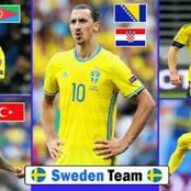 See the Origin of Zlatan Ibrahimovic and other Sweden team players