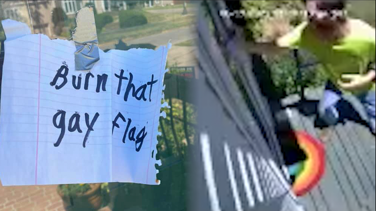 Police: Man who left anti-LGBTQ notes on Boone homes arrested, charged with hate crimes