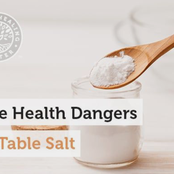 Dangers Of Too Much Salt To Your Health