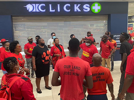 EFF to stage sit-ins at all vaccination centres if Ramaphosa does not do this