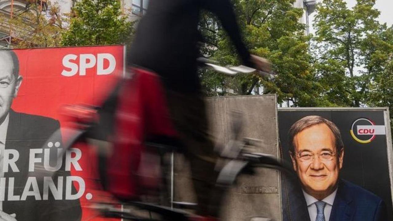 Wahltag : Bundestagswahl beginnt - knapper Ausgang erwartet
