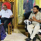 President Jacob Zuma Didn't Seem Very Happy About This Visit