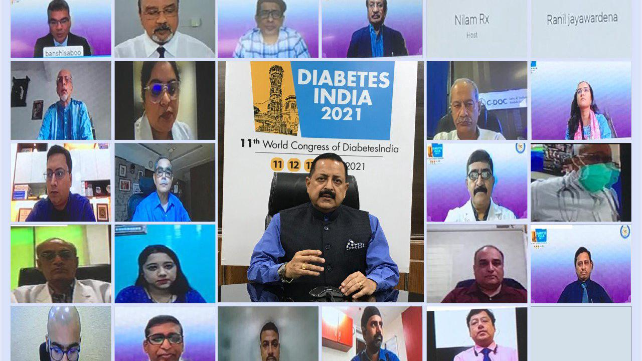 Need for public awareness about Diabetes and COVID: Dr Jitendra