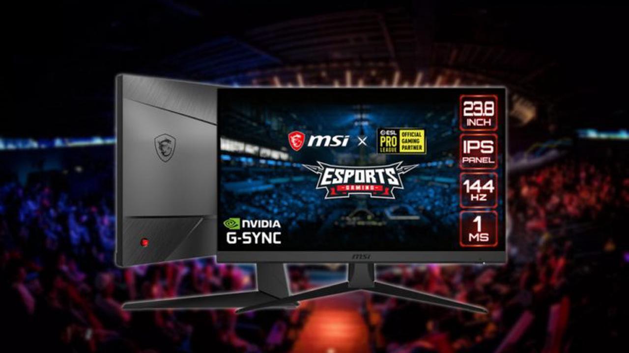 MSI Optix G242, an affordable eSports gaming monitor