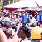 Millicent Omanga And Dp Ruto Takes Embakasi West By Storm
