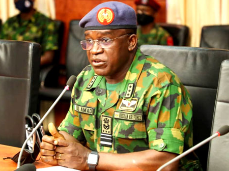 Air Marshal Isiaka Amao speaks about getting rid of terrorists in Nigeria