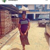 Yoruba Actress Shares Throwback Photo Of Herself Hawking Bread On The Streets Of Lagos