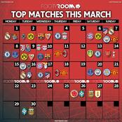See Top Matches That Would Be Played This March