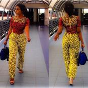 How to rock out in Ankara Dungarees