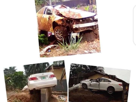 A Speeding Driver Dies, Kills A Female Pedestrian After Losing Control Of His Car In Anambra