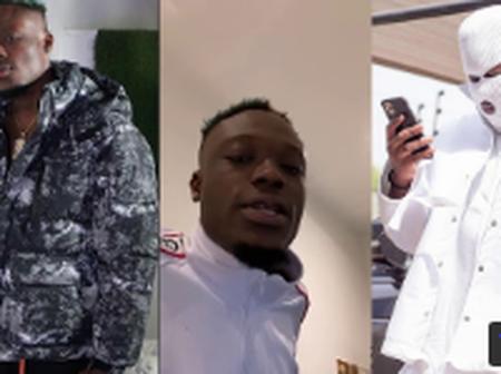 Rapper Okese 1 finally exposes Medikal, Praises AMG boss Chris Waddle