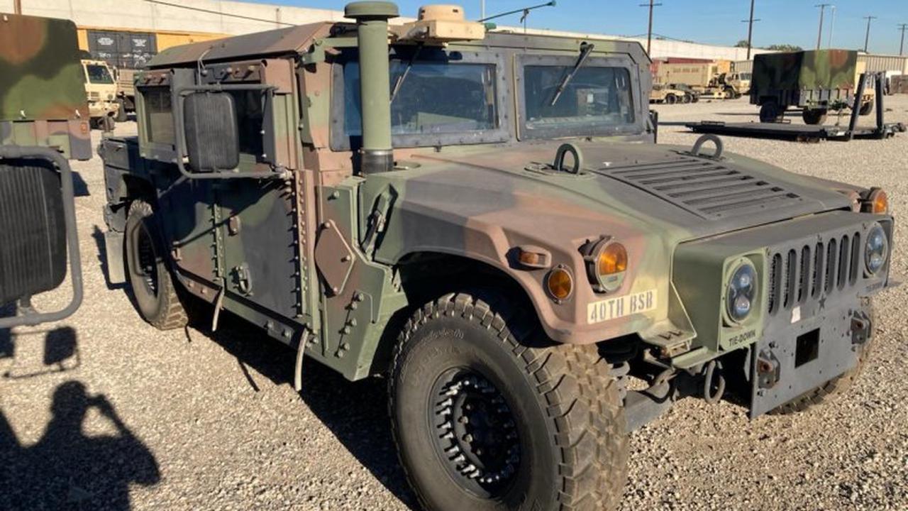 Armored Military Humvee Stolen In California, FBI Search Underway