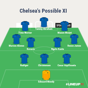 Chelsea And Liverpool's Possible Line Ups Ahead Of Their Thursday's Clash In The Premier League