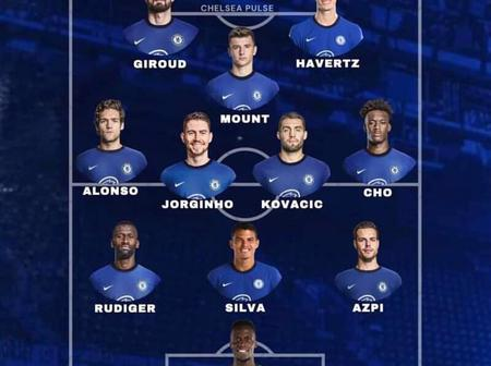 View Chelsea Predicted Line up Against FC Porto In The Champions League Clash