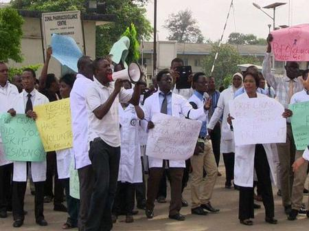 Medical Doctors Call Off Their Strike, after reaching an agreement with Buhari administration