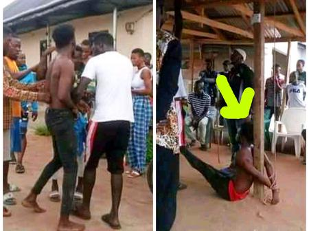 Biker Apprehended After He Engaged In A Fight Over N300 And Stabbed His Passager's Son-In-law